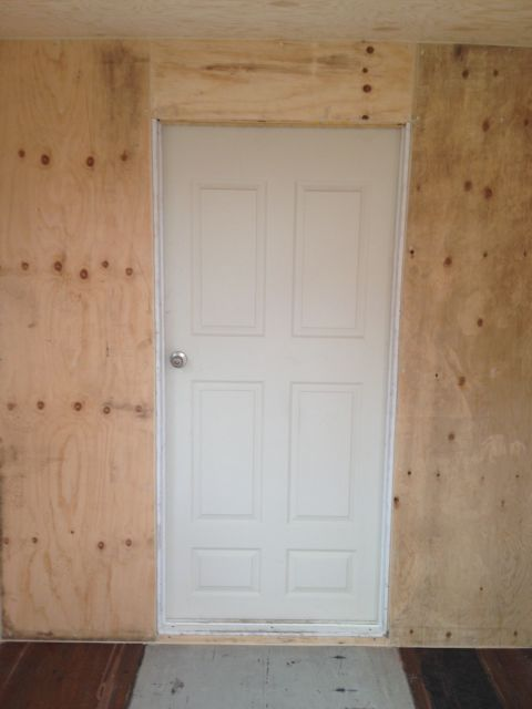 Interior Wood Personnel Door