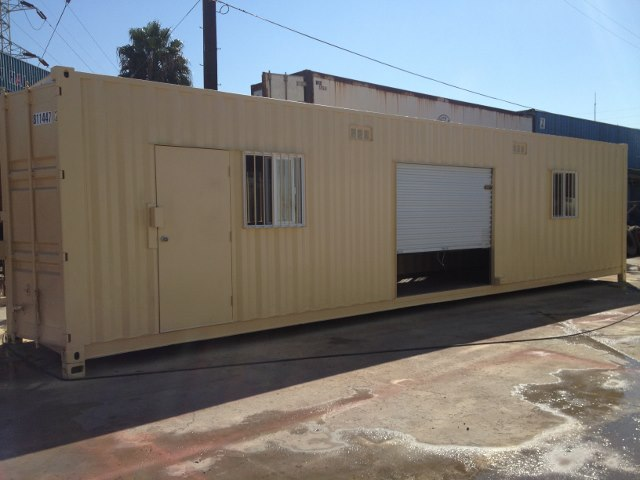 40' Combination office and Storage